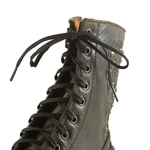 Studs silver Rocky 2 Tarnish Biker Damen 12203132 Mehrfarbig 9035 Ash Boots military Zpx8v8