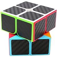 Speed Cube 2x2x2, LSMY Puzzle Mágico Cubo Carbon Fiber Sticker Toy - Peluches y Puzzles precios baratos