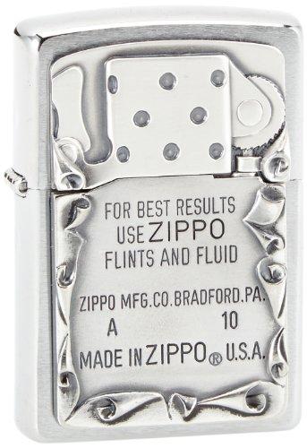 Zippo 2001660 Feuerzeug 200 Use Emblem