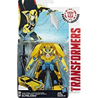Transformers Robots in Disguise Warrior Class Night Strike Bumblebee Figure by Transformers