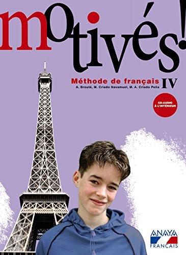 Portada del libro Motivés! IV. (Anaya Français) - 9788467800357