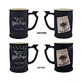 Mundo de Magos Harry Potter mapa del merodeador calor reactiva pisadas café té taza Exclusive–nueva