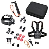 Rollei Actioncam Zubeh�r Set Outdoor - 23-teiliges Set, ideal zum Klettern, Wandern und andere Outdoor-Aktivit�ten - F�r Rollei Actioncams und GoPro Bild