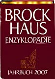 Brockhaus Enzyklopädie Jahrbuch 2007 (Halbleder-Einband) -