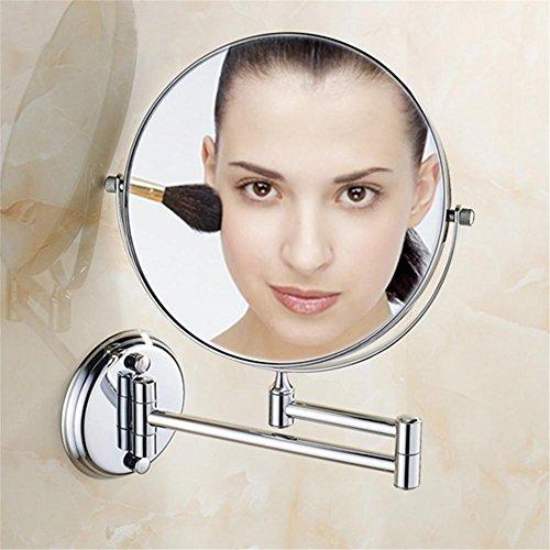 """8"""" Messing Bad Make-up Spiegel Spiegel Double konfrontiert Lupe Bad Kosmetikspiegel Antik/Gold/Chrom/schwarz , 5"""