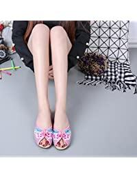 ZQ Gestickte Schuhe, Leinen, Sehnensohle, ethnischer Stil, weibliche Schuhe, Mode, bequem, Piste Erhöht , red , 39