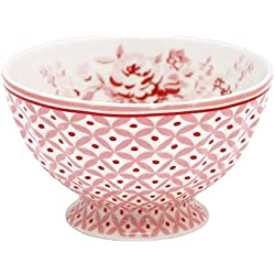 GreenGate Schüssel - French Bowl - Abelone Raspberry - Medium