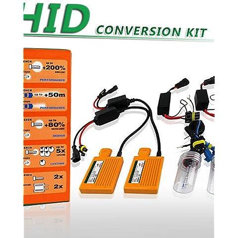 WEIAN luci xencn h11 12v 35w xeno 5500k bi bianco eccellente sostituzione fari auto alimentatori linee di conversione nascosto set kit