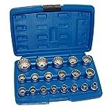 Gear lock Nüsse Steckschlüssel Einsätze Vielzahn Zoll 6-kant 12-kant Torx 6304