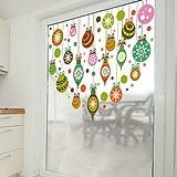 DIYlab Weihnachtsschnee-Ball-Aufkleber Frohe Weihnachten Weihnachtsmann Worte Wand-Aufkleber-Ausgangsdekor-Geschäfts-Speicher-Weihnachtsparty-Fenst 45X60Cm