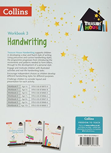 Handwriting Workbook 3 (Treasure House)