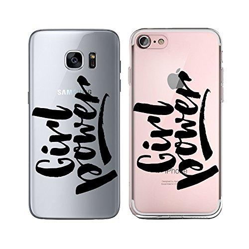 Original Lanboo® Silikon Case Für iPhone 5 / 5s / SE #4 Motiv 9 - Design Druck Leben Spruch Schriftzug Weisheit Sinn - Hülle Cover Tasche Etui Schale - Girl Power - Frauen Power - Schwarz (Iphone 5s Case-tasche Für Frauen)