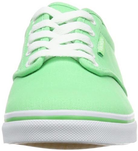 Vans W Atwood Low, Baskets mode femme Vert (Spring Green/White)