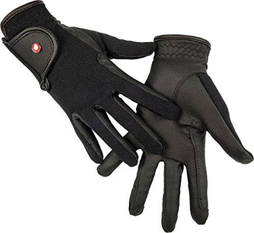HKM SPORTS EQUIPMENT Reithandschuh -Professional Soft Grip-, Farbe:schwarz, Groesse:M