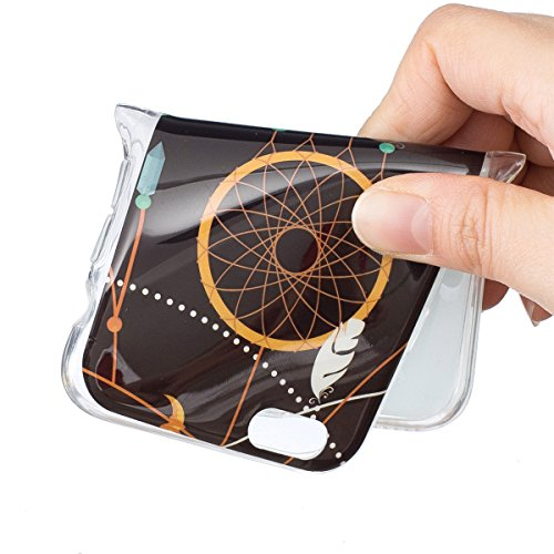 iPhone 6 Hülle, iPhone 6S Hülle, Gift_Source [ Hirsch ] Hülle Case Transparent Weiche Silikon Schutzhülle Handyhülle Schutzhülle Durchsichtig TPU Crystal Clear Case Backcover Bumper Case für iPhone 6s E1-Federwindklangspiele