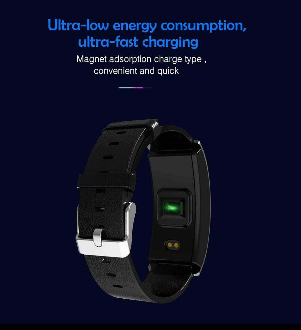 SPORS Fitness Tracker cinturón Impermeable Ritmo cardíaco presión Arterial sueño Monitor podómetro Reloj Inteligente… 6