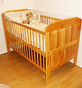 Stanley Cotbed AND Junior Bed Colour PINE