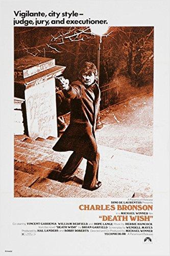 Death Wish Charles Bronson Vintage Film Poster crime Thriller Guns 24x 36(Reproduktion, nicht ein Original)