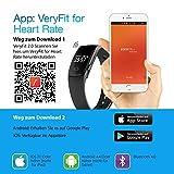 【Neue Version】Fitness Tracker,Mpow Bluetooth Fitness Armbänder mit Pulsmesser Herzfrequenzmesser, Schrittzähler, Schlaf-Monitor, Aktivitätstracker, Remote Shoot, Anrufen / SMS, finden Telefon für Android iOS Smartphone wie iPhone 8/8 Plus/7/7 Plus/6S/6/6 Plus, Huawei P9. - 8