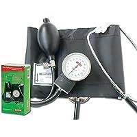 Gima 32703 YTON - Esfigmomanómetros aneroides con fonendo integrado, color negro