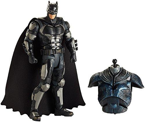 Mattel FHG06 - DC Multiverse Collector-Figur Justice League Movie Batman, 15 cm (Batman League Justice)