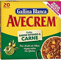 Gallina Blanca Avecrem Carne 20 pastilas
