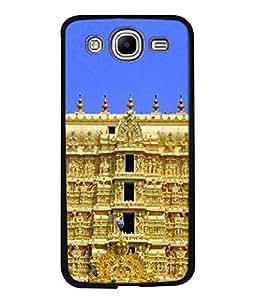 Fuson Designer Back Case Cover for Samsung Galaxy Mega 5.8 I9150 :: Samsung Galaxy Mega Duos 5.8 I9152 (Gumbaj Throne Mandir Temple )