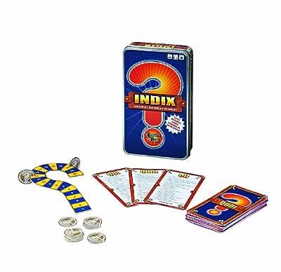 University Games - 01104 - Jeu de Société - Indix Version Voyage - Boîte Métal