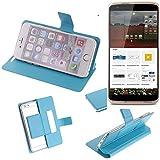 Flipcover Schutz Hülle für ZTE Axon mini Premium Edition,