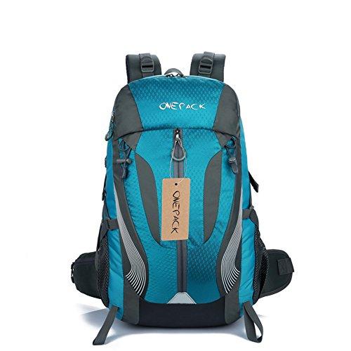 Imagen de mountaintop 40l senderismo  camping  viajes daypack ciclismo deportes escalada  mountaineering trekking  azul claro