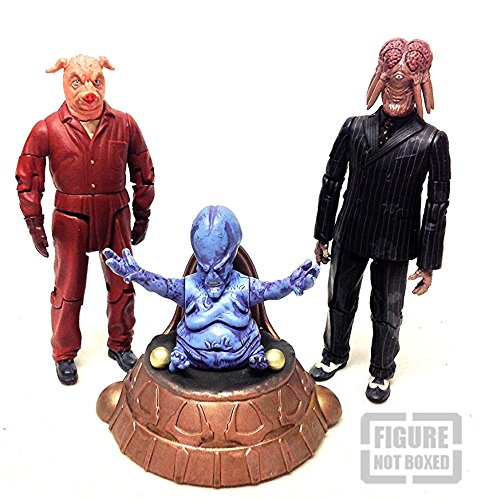 Dr Who Aliens & Villas Action-Figuren-Set, 15 cm, 3 Stück - Mutanten Dr Who
