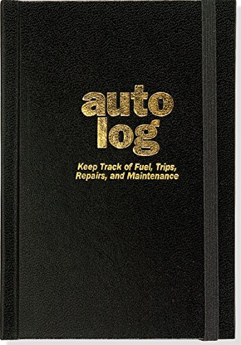 Auto Log Book by Peter Pauper Press (October 23,2015)