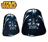 sw16528Weiche Kissen-Kollektion Star Wars 3d Darth Vader Schwarz 44x 34cm. Media Wave Store®