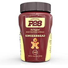 P28 Foods The Original High Protein Peanut Spread, Gingerbread, 16 Ounce by KEE HOLDINGS Inc.