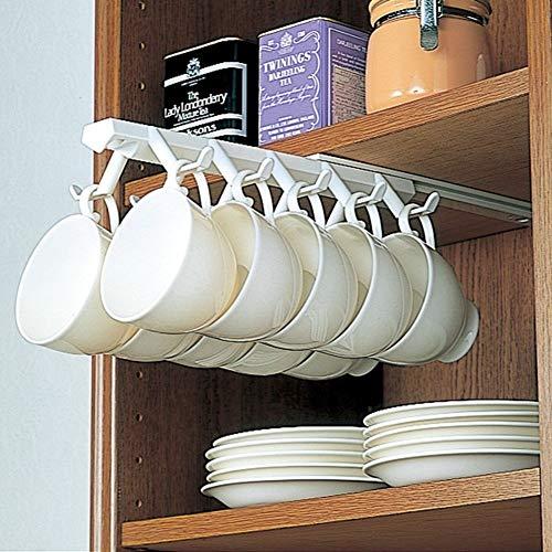 Support De Tasses à Placer Sous,Créative Stockage Rack Ménages De Coupe à L'envers Vers Le Bas De Porte-gobelet Café Cintre Suspendu Porte-gobelet