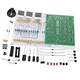 #1: FNT Digital Clock Kit 6 LED Electronic Smart Clock DIY Learning Kits AT89C2051