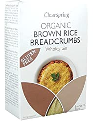 Clearspring - Organic Gluten Free Wholegrain Brown Rice Breadcrumbs - 250g