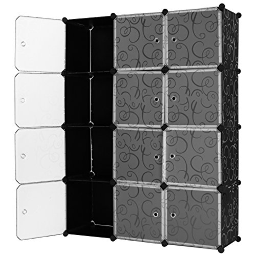 langria-interlocking-plastic-wardrobe-cabinet-opaque-curly-patterned-design-12-cube-storage-with-tra