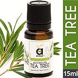Anveya Australian Tea Tree Essential Oil, 100% Natural & Pure, 15ml, for Acne