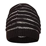 FabSeasons WC59 Acrylic Skull Cap, Men's Free Size (Dark Brown)