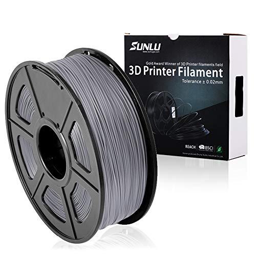 SUNLU 3D Printer Filament PLA Plus, 1.75mm PLA Filament, 3D Printing Filament...