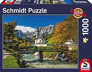 Schmidt Spiele 58225 1000pieza(s) Puzzle - Rompecabezas (Jigsaw Puzzle, Landscape (Scenery), 693 mm, 493 mm, 373 mm, 273 mm)