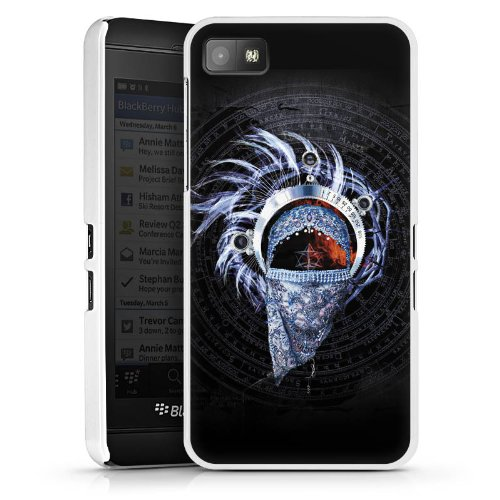 Blackberry Z10 Hülle Schutz Hard Case Cover Enigma La puerta del Cielo Muster