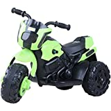 Baybee Damned GS-800 Battery Operated Sports Bike | Single Motor Ride On Bike with 20 Kg Weight Capacity -- Green