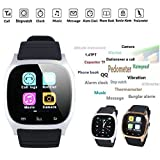 Beautyrain 1PC Smart Sports Watch Support bBlood Pressure Heart Rate Monitoring Exercise Fitness Pedometer Gold/Silver