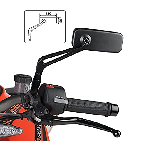 Rear View Mirror Puig MT Kawasaki Vulcan S Café 2017 (pair) black