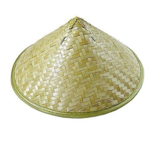 WYZ Cappello di Riso Adulto Cinese di bambù Cono di Paglia da Giardino  (style3) b96825a61164
