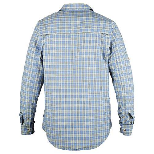 Fjällräven Herren Abisko Hike Shirt Ls Hemd light blue