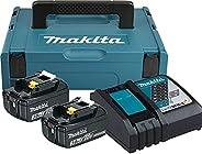 Makita 197952-5 Power Source Kit 18 V 3 Ah, 230 V, turkusowo-czarny