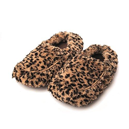 Warmies-peluche Lavanda profumata Tawny Fur Microonde Pantofole